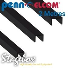 Penn Elcom 2 Metres Divider Extrusion Hat Shaped