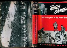 Vintage Foster Hewitt Signed Autographed Book Hello Canada Toronto Maple Leafs!