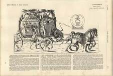 1861 16th Century French School Royal Coach J Androuet Dugerceau