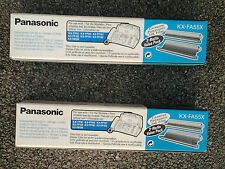 2 X GENUINE ORIGINAL Panasonic KX-FA55X Ink Film for KX-FP185 KX-FP189 KX-FP195