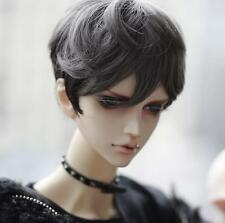 1 4 7-8 BJD Wig SD MSD DOC Pullip Dal Dollfie Doll wigs Gray black barbie