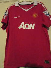 Manchester United 2010-2011 Home Football Shirt Size Childrens 13-15 years 39585