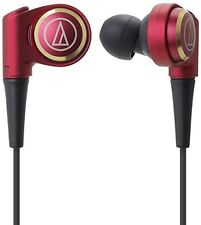 New audio-technica CKR Series canal type earphone Limited Red hi-res ATH-CKR9LTD