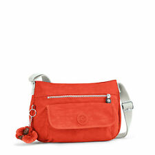 BNWT Kipling SYRO Across Body/Shoulder/Messenger Bag CORAL ROSE C SPF2016 RRP£69