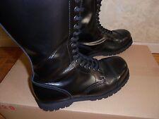 Boots & Braces - Mens Black 30 hole boots