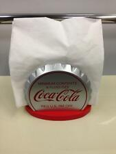 Coca-Cola Wooden Bottle Crown Shaped Napkin Holder