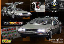 Hot Toys Back To The Future DeLorean Time Machine For 1/6 Scale Figures McFly