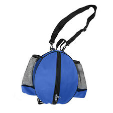Basketball Bag Soccer Ball Football Volleyball Softball Sports Ball Bag (Blue)