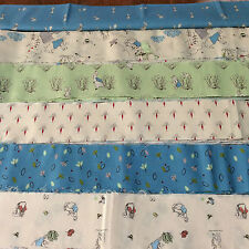 Peter Rabbit, Beatrix Potter Jelly Roll - boys design, 24 strips 2.4 x 42.5""