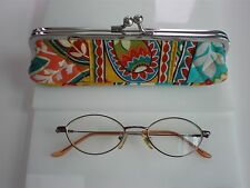 EYE GLASS FRAMES GOOD FOR  SMALL WOMAN OR KIDS FLEXIBLE HINGE MADE IN HONG KONG