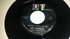 RAY CHARLES Someone To Watch Over me / Claudie Mae ABC 11251 SOUL 45