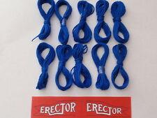 10 Hanks of Blue String & Erector Set Flag