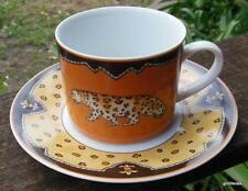 Vintage Muirfield 2 Cups 1 Saucer   Outback Leopard Motif