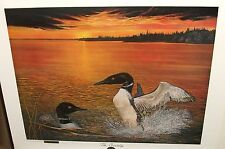 "LLOYD HOVLAND ""COURTSHIP"" LIMITED EDITION HAND SIGNED LITHOGRAPH"
