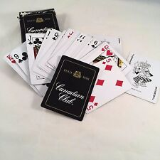 RARE Vintage CANADIAN CLUB Whiskey Playing Cards Deck Complete