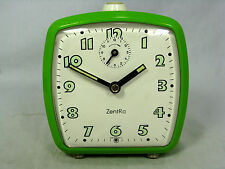 Schöner / Cool 70´s design ZentRa Wecker  # alarm clock in working condition