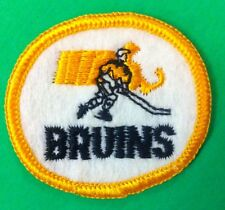 "Boston Bruins  NHL Vintage  Logo    Patch 2"" Inch Iron On/ Sew On"