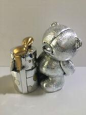 Salvadanaio orsacchiotto in argento FOREVER FRIENDS FF 0322 regalo per nascita