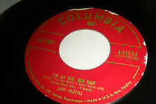 LEFTY FRIZZELL 45 I'm An Old Old Man / You're Just Mine 1953 Columbia VG++