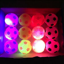 1Pc Light Up Sounding Ball Flashing Bouncing Balls Hedgehog Ball Kids Toy
