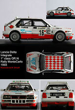 LANCIA DELTA INTEGRALE  WINNER GR.N RALLY  MONTE CARLO 1993 SPILIOTIS decal 1/43