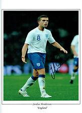 Jordan HENDERSON Signed Autograph 16x12 England Portrait Photo AFTAL COA