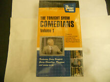 The Tonight Show Comedians Volume 1 VHS Seinfeld Shandling Roseanne 2001