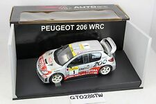 AUTOart 1:18 scale Peugeot 206 WRC #1 2001 Rally Monte-Carlo (Marcus Gronholm)