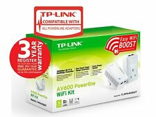 New TP-Link AV500 Powerline 2-Port WiFi Extender Kit TL-WPA4226KIT 500Mbps