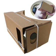 "6"" Google Cardboard DIY 3D Virtual Reality Glasses For Samsung Smart Phones New"
