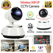 HD 720P Wireless WiFi IP Camera Home Security Network CCTV P2P IR Night Vision