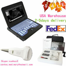 Portable laptop machine, Digital Ultrasound scanner, 3.5M Convex probe,US HOT