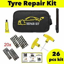 CAR VAN MOTORCYCLE TYRE TUBELESS PUNCTURE REPAIR KIT EMERGENCY TIRE KIT #04