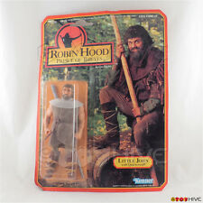 Robin Hood Prince of Thieves Little John with Quarterstaff 1991 Kenner worn pack