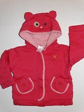 NWT GYMBOREE MIX N MATCH KITTY HOODIE JACKET SIZE 2T CAT 2 GIRLS QUILTED FALL