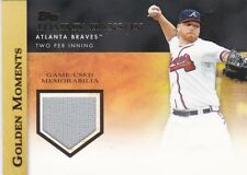 2012 TOPPS BASEBALL TOMMY HANSON GOLDEN MOMENTS RELIC CARD