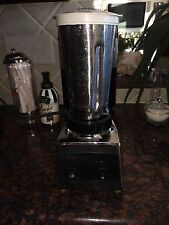 Vintage Osterizer OSTER Commercial Bar Blender Drink Mixer Chrome & Stainless