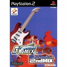 Used PS2 Guitar Freaks 3rd MIX &  drum mania 2nd MIX Import Japan、、