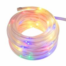 Ehome Solar Flexible Tube Lights 100LED 39FT Waterproof Outdoor Decorative Light