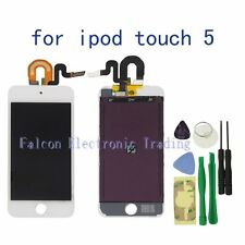 For iPod Touch 5 5G  LCD Display Touch Glass Digitizer Screen replacement white