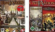 Civilization 4 + Addon caudillos + Beyond the Sword utilizada