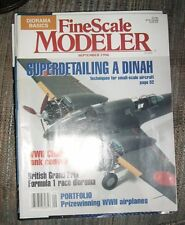 September 1996 FineScale Modeler Hobby Magazine Fine Scale Excellent!y
