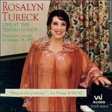 Live at the Teatro Col¢n (CD, Jun-1993, 2 Discs, VAI Audio)