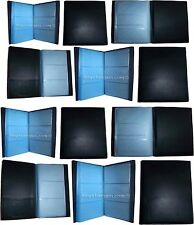 Lot of 12 new 60 to 120 business card case credit card IDs mini photos holder BN