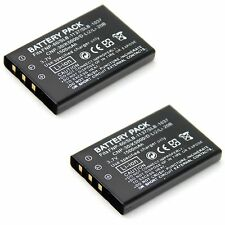 2x 3.7v 1500mAh Li-ion Battery for Drift HD170 Stealth Action Camera Brand New