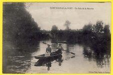 cpa Lorraine SAINT NICOLAS de PORT (Meurthe et Moselle) Un COIN de la MEURTHE