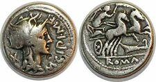 REPUBLIQUE ROMAINE CIPIA Denier  ROMA -115 ROME RCV 166