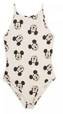 Ladies Mickey Mouse Bodysuit Best Top Leotard Primark Disney Size 8