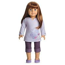 American Girl Doll Clothes InnerStar U Purple Outfit Shirt Denim Jeans Retired