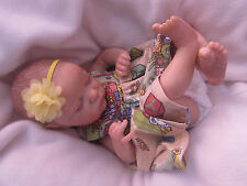 BEAUTIFUL REBORN BABY GIRL EVANGELINE BY LAURA LEE EAGLES  WITH TUMMUY PLATE